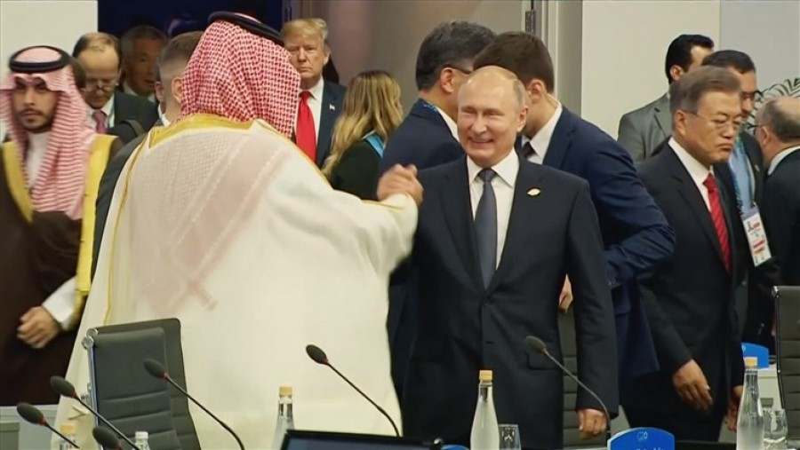 WHO NEEDS AN OPEC WHEN YOU CAN HAVE A PUTIN AND MBS