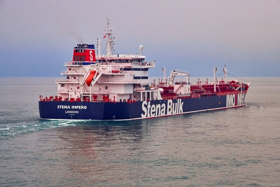 MT STENA IMPERO SEIZED BY IRAN AS BARGAINING CHIP WITH BORIS